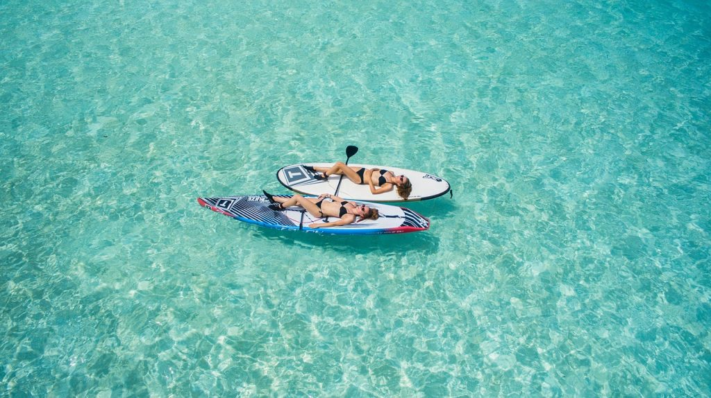 Paddle surf relax