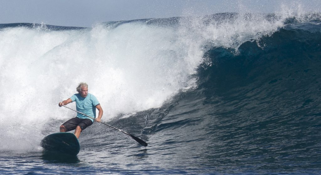 wave paddle surf