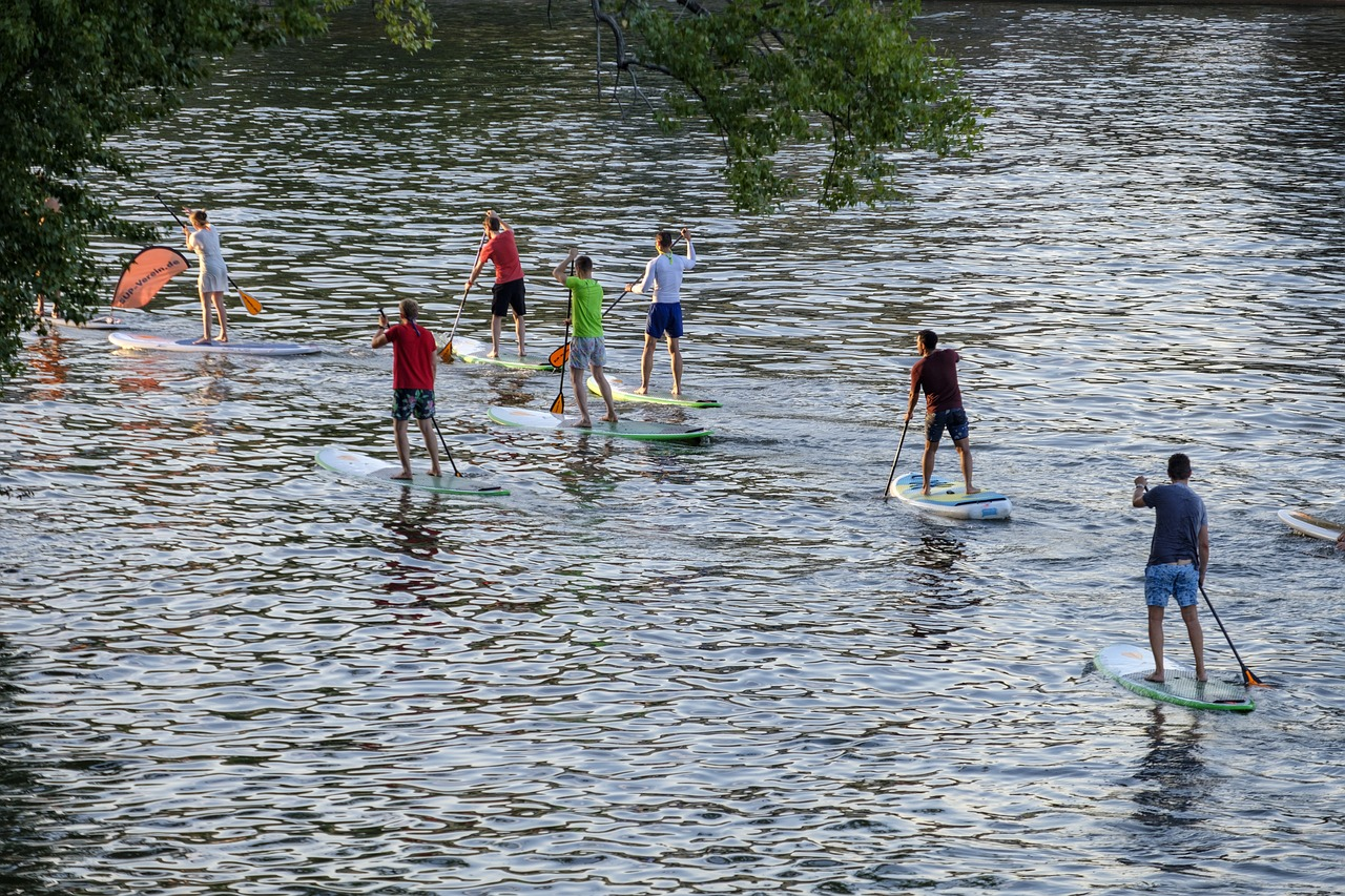 paddle surf en rio